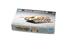 Trumpeter 1:72 Scale - German Jagdpanzer IV Model Kit 07262