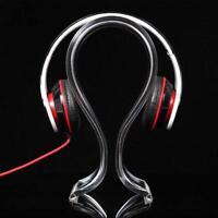 Universal Acryl Kopfhörer Headset Kopfhörer Ständer Halter Kleiderbügel Headpho