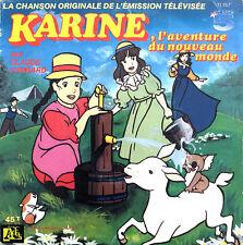 """Claude Lombard 7"""" Karine, L'Aventure Du Nouveau Monde - France (VG/VG+)"""