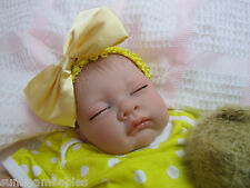 SUNBEAMBABIES NEW REBORN REALISTIC NEWBORN SIZE FAKE BABY GIRL DOLL LIFE LIKE