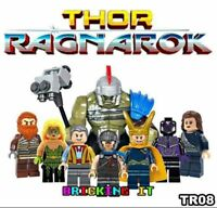 8 PCS MARVEL AVENGER SUPER HEROES FIT LEGO MINI FIGURE WITH MASSIVE HULK THOR