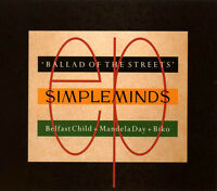 Simple Minds ‎Maxi CD Ballad Of The Streets - Europe (EX/EX+)