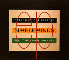 Simple Minds Maxi CD Ballad Of The Streets - Europe (EX/EX+)