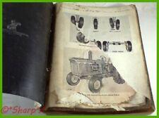 John Deere 4010 Parts Catalogpc691 Genuine Original 1963 Version Dealership