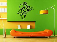 Wall Stickers Vinyl Decal Parrot For Kids Nursery Funny Animal ig1451