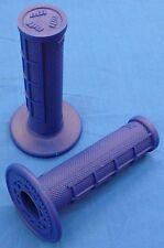 HONDA TRX 450ES TRX450ES ODI HALF WAFFLE MX GRIPS BLUE NEW TWIST THROTTLE BDTM