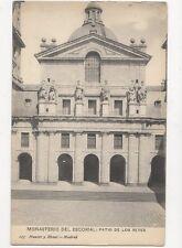 Monasterio del Escorial Patio De Los Reyes Spain Vintage Postcard 136a