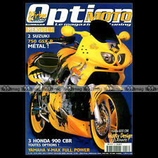 OPTION MOTO N°16-b BIMOTA SB6 R HONDA CBR 600 MARTY DESIGN YAMAHA YZF 1000 R '97
