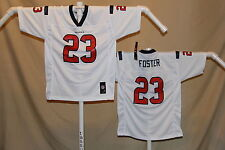 Arian Foster  HOUSTON TEXANS   Reebok  JERSEY  Youth Small   NwT  white   ns