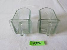 2 x Glasschütte Glas Küchenschütte für Küchenschrank 6 x 6 cm Gewürz Einschub
