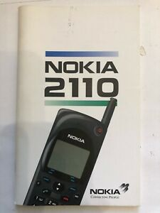 Nokia 2110 User Manual