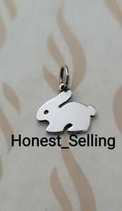 James Avery Retired Flat Rabbit Charm Sterling Silver