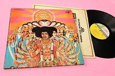 JIMI HENDRIX LP AXIS ORIG USA 1967 EX 3-TONE LABEL YELLOW, PINK GREEN 1E/1F !!!!