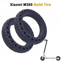 2Pcs Rubber Solid Tire for Xiaomi Mijia M365/Ninebot 8.5 Inch Electric Scoote w0