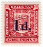 (I.B) Guernsey Revenue : Sales Tax 1d