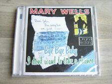 MARY WELLS CD smokey robinson *NEW & SEALED* soul MOTOWN r&b the impressions