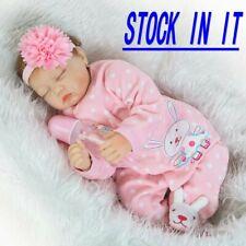 """55cm 22""""Lifelike Bambole Rinascere Sale Lifelike Silicone Reborn Baby Doll IT"""