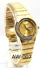 New Citizen Ladies  Gold-tone, Gold-Dial, Dress Watch