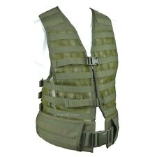 TECHINKOM 6SH117 Tactical Molle Vest Carrying System Olive