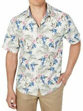 NWT $135 Tommy Bahama SS Green Blue Pink Floral Shirt Men's SZ L Basilica Blooms