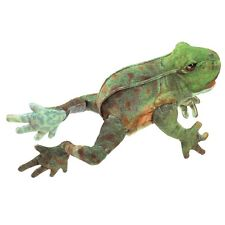 Jumping Frog Hand Puppet with Movable Legs & Mouth, 3 Years & Up, MPN 3082