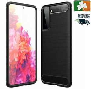 Brand NEW Rugged Case Cover For Samsung Galaxy S8/9/10/20/21 Carbon Fibre Design