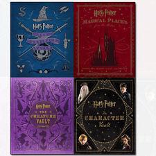 Harry Potter Collection Jody Revenson 4 Books Set Artifact Vault,Character Vault