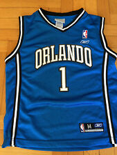 Canotta Jersey Nba McGrady Orlando Magic Reebok 10 12 Youth Jordan Basket VTG