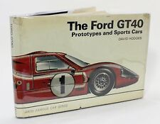 The Ford GT40 Prototypes & Sports Cars David W Hodges Vtg Photo History Car Book