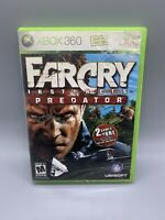 Far Cry Instincts: Predator (Microsoft Xbox 360, 2006) Without Manual