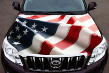 USA Large Flag Plan Full Color Sticker Car Hood Vinyl Graphics Decal Wrap PN393
