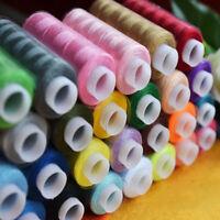Mischfarben 30 Spulen Polyester Vielseitigkeits Nähgarn Kegel Bunte Sets