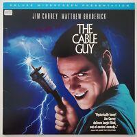 Matthew Broderick Signed The Cable Guy Laserdisc Ferris Bueller Actor LEGEND RAD