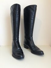 Dune Black Calf Boots Size 5
