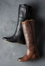 Frye Paige Tall Riding Boots - Black - Size 8.5 Brand New!