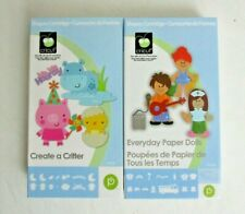 Cricut Cartridge Lot Create a Critter Everyday Paper Dolls