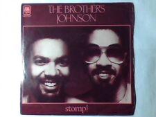 "BROTHERS JOHNSON Stomp! 7"" ITALY UNIQUE PICTURE SLEEVE QUINCY JONES"