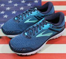 Brooks Adrenaline GTS 18 Running shoes Blue White [1202681D495] Women 8.5 D Wide