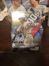 New listing 2020 Topps Chrome Alex Rodriguez Decade of Dominance Die-Cut Refractor