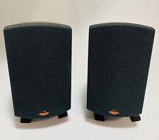 Klipsch Quintet II Speaker System 2 Surround Sound Speakers  Tested -See Pics!!