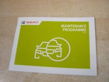 SEAT ALL MODELS  SERVICE BOOK PRINT 2015 AND GENUINE SEAT