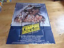 KERSHNER - FORD - Affiche / Poster !!! EMPIRE CONTRE ATTAQUE - STAR WARS !