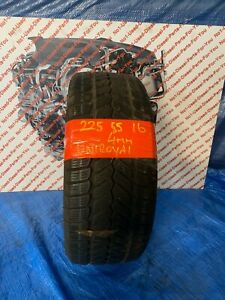 UNIROYAL 225 55 16 225/55/16 4mm tread depth - used - tire / tyre