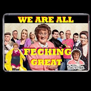 MRS BROWNS BOYS FRIDGE MAGNET JOKE GIFT WE ARE GREAT DVD