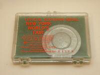 1964 1965 New York Worlds Fair Souvenir Coin Token In Rare Original Case NOS New