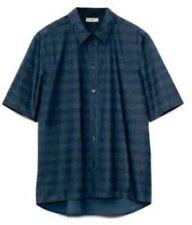 MARNI AT H&M BLUE NAVY SHIRT  Men Size Medium Brand New Rare SOLD OUT
