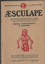 Aesculape Magazine Edition North African and Colonial No. 5 May 1932 Ref E36