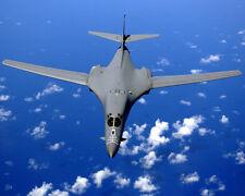 B-1B Lancer Jet In Flight 8x10 Photo U.S. Air Force