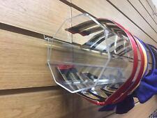 Acrilico Hairband Portarotolo Display Stand Negozio Vetrina Esposizione Negozio Nuovo