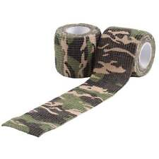 Paintball / Airsoft Camo Tape Tarnklebeband (Woodland)